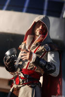 Ezio Auditore - Assassin's Creed 2  Cosplay Art by LeonChiroCosplayArt
