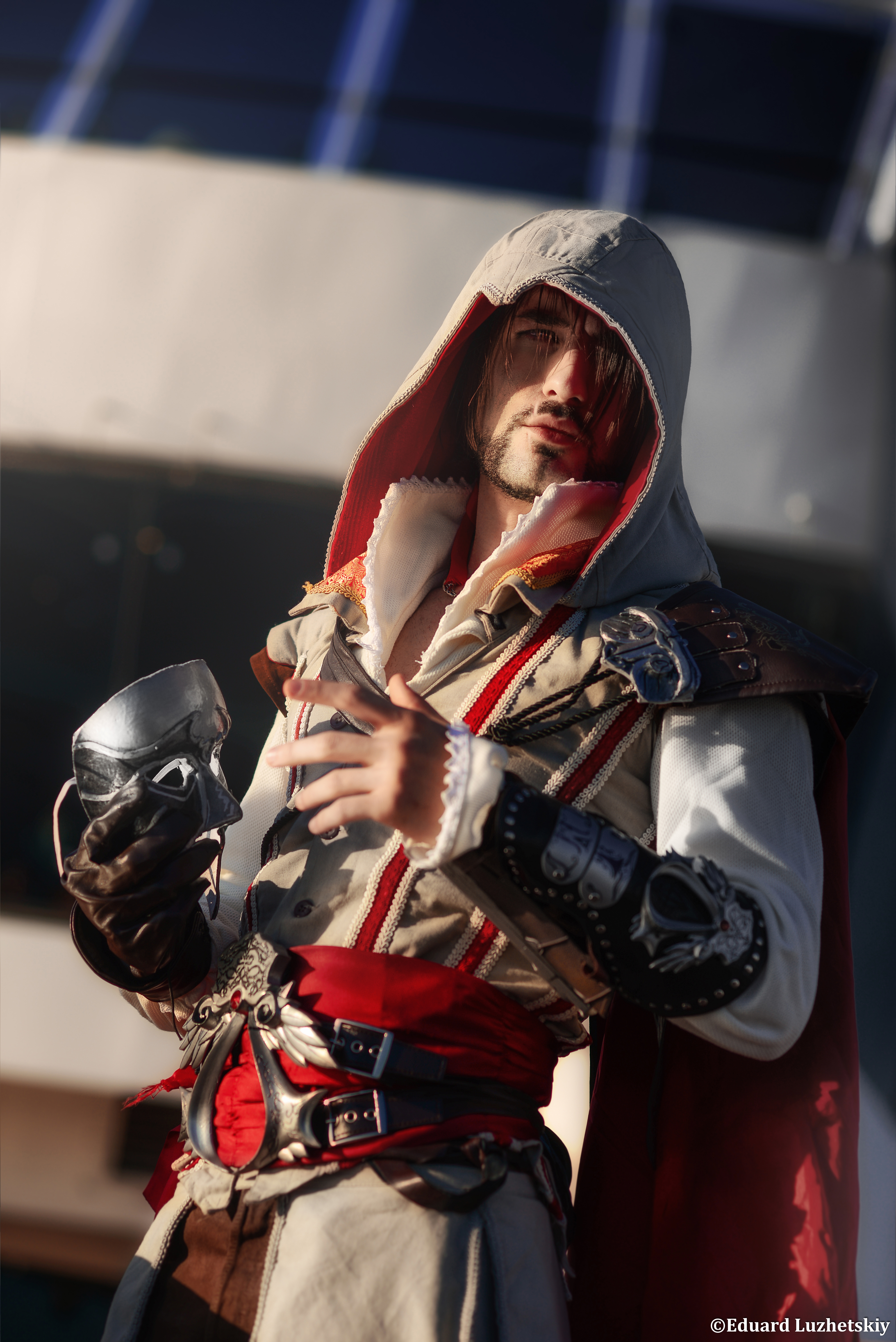 Ezio Auditore Assassin S Creed 2 Cosplay Art By