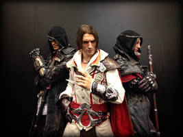 Auditore meets Frye - Gamescom 2015 Cosplay Art by LeonChiroCosplayArt