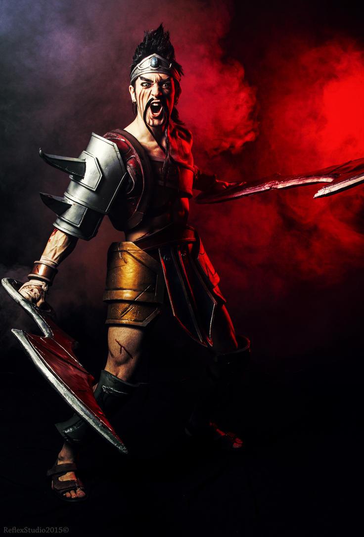 Draven Cosplay - League of Legends Death's Knockin by LeonChiroCosplayArt