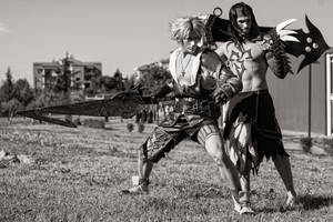 Tidus and Jecht Cosplay - This is Our Story - FFX