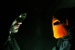 Arrow and Deathstroke - Cosplay Leon and Hachi