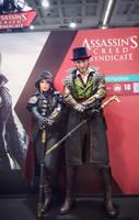 Leon and NadiaSK as Jacob ft Evie Frye for Ubisoft by LeonChiroCosplayArt