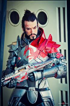 Commander Shepard - Happy N7 Day - Mass Effect Cos