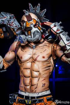 Psycho Krieg - Borderlands 2 Cosplay by Leon Chiro