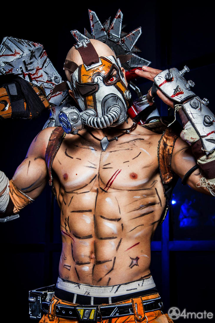 Krieg The Psycho Borderlands 2 Wallpaper By: Borderlands 2 Cosplay By Leon Chiro By