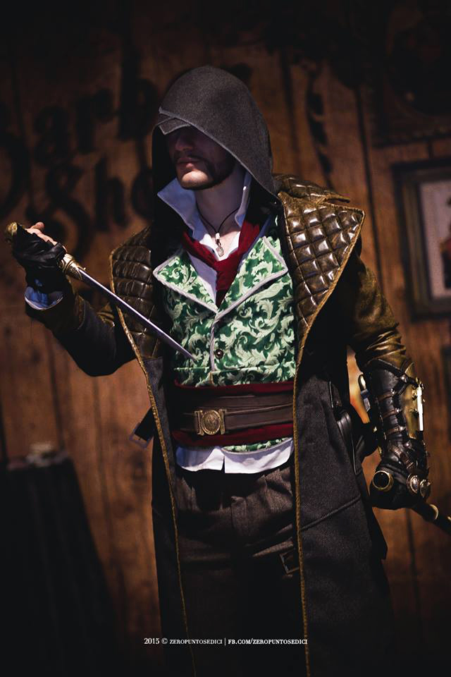 Jacob Frye Assassin S Creed Syndicate Cosplay By