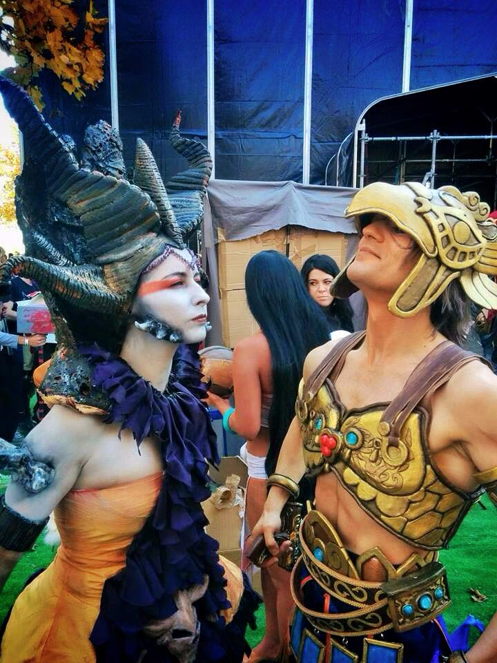 Epic Cosplay Moments - Leon and Vanessa -Lucca ECG by LeonChiroCosplayArt