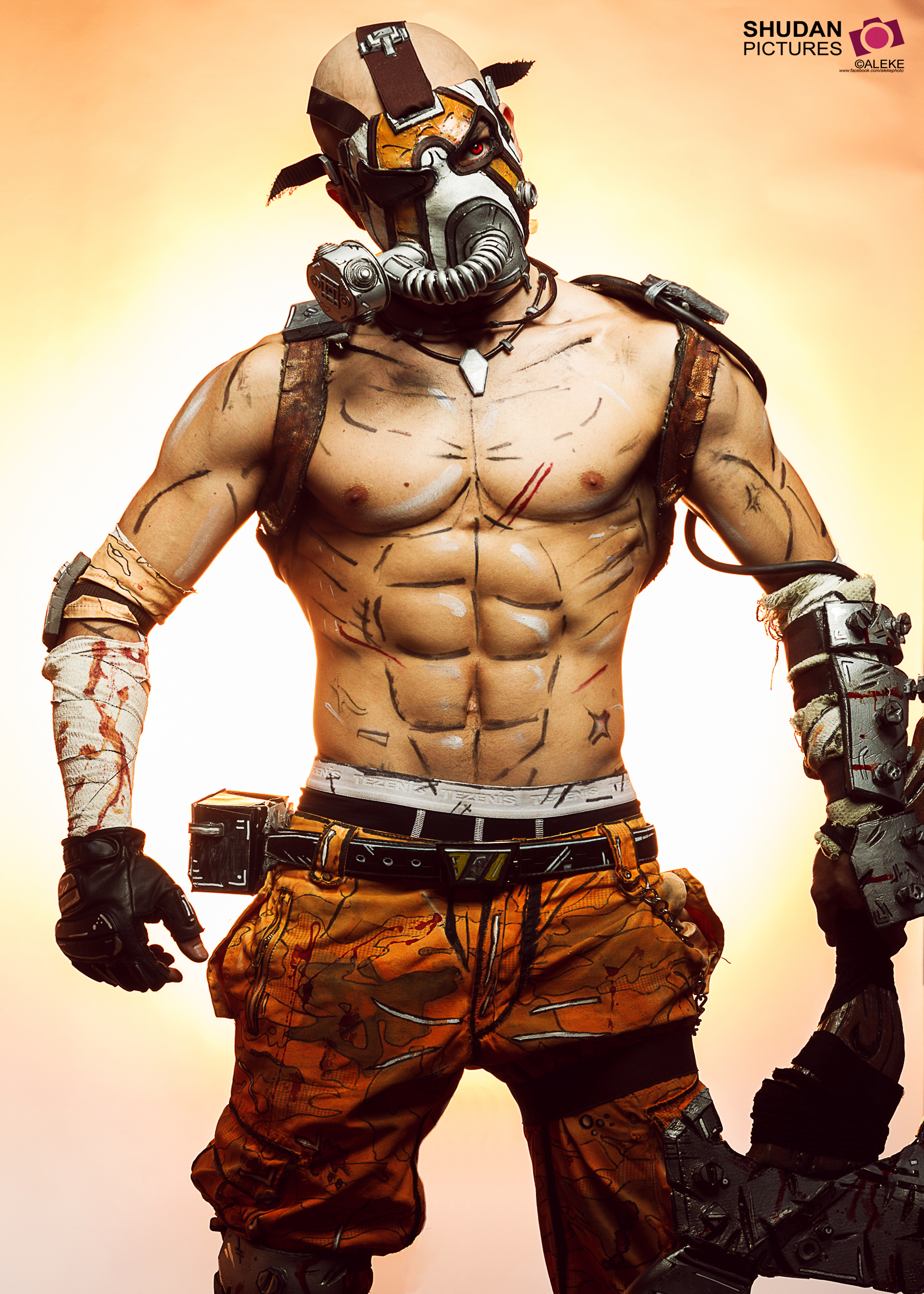 Psycho Krieg - Borderlands 2 Cosplay by Leon Chiro by ...