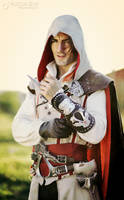 Ezio Auditore - Assassin's Creed 2 Cosplay by Leon by LeonChiroCosplayArt