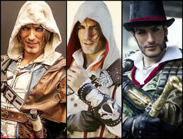 UbiPower - Assassin's Creed Cosplay by Leon Chiro by LeonChiroCosplayArt