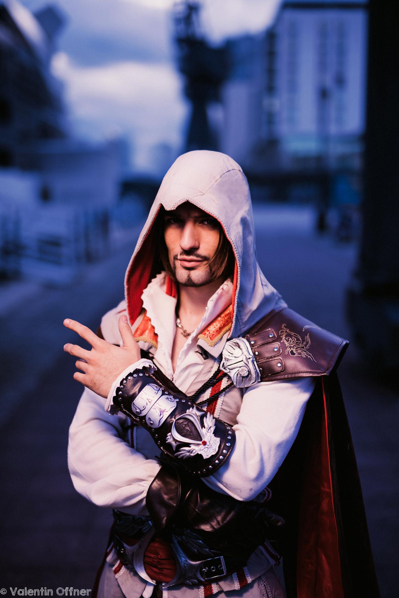 The Mentore Ezio Auditore da Firenze - Cosplay Art