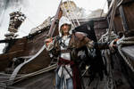 Join my CREW!!! - Edward Kenway Cosplay AC IV by LeonChiroCosplayArt