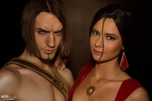 Prince of Persia and Farah - Cosplay Art Ubisoft