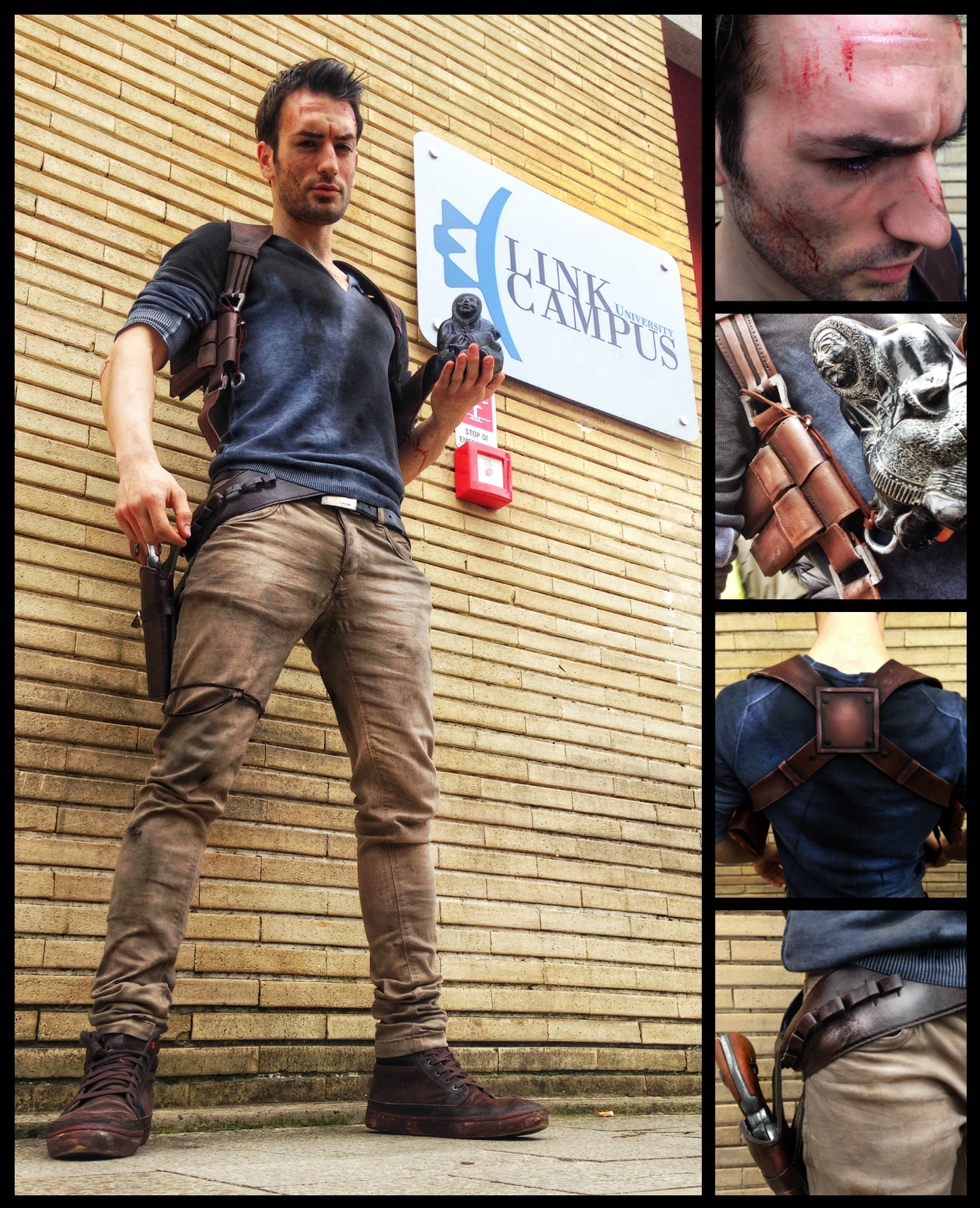 Uncharted 4 Nathan Drake Cosplay By Leon Chiro By
