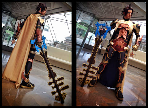 Terra - Kingdom Hearts BBS Armour Cosplay -PREVIEW