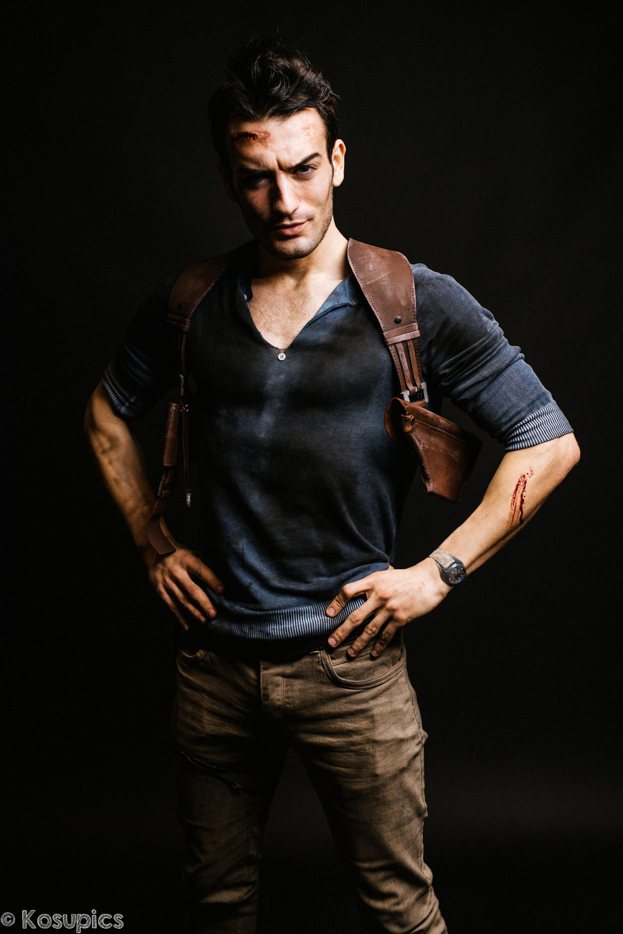 nathan drake uncharted 4 cosplay by leon chiro by
