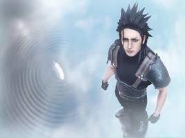 Wings - Zack Fair Cosplay Art Final Fantasy VII