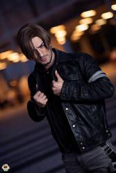 Leon Kennedy - Resident Evil Vendetta Cosplay 3 by LeonChiroCosplayArt