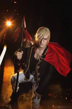 Nine - Final Fantasy Type-0 Cosplay - Tempus Finis