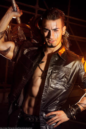 Gladiolus Cosplay - Final Fantasy XV by Leon Chiro