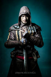 Enter the ANIMUS - Aguilar Assassin's Creed Movie