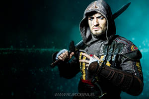 Enter the ANIMUS - Aguilar Assassin's Creed Movie by LeonChiroCosplayArt