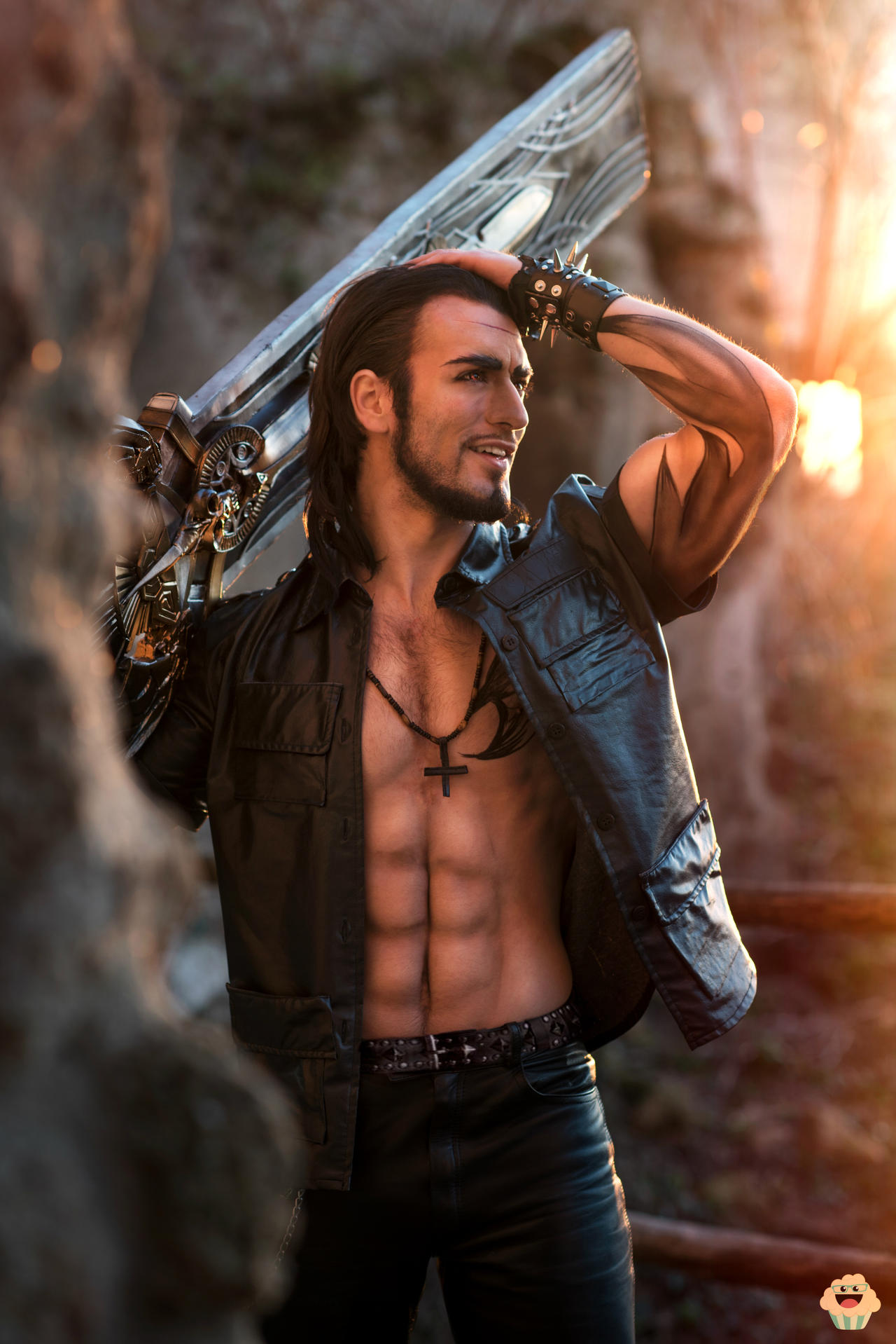 Gladiolus - Final Fantasy XV Cosplay by Leon Chiro by LeonChiroCosplayArt