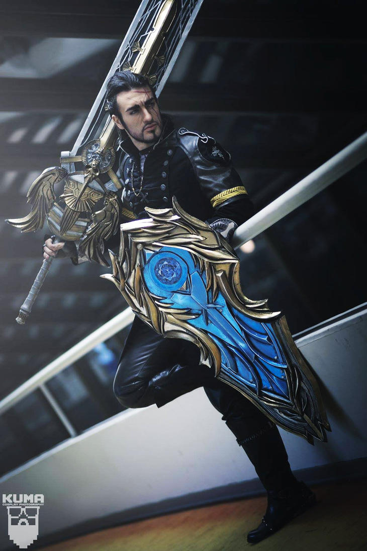 Gladiolus Amicitia - Sword and Shield FFXV