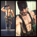 Naked Snake - MGS 3 First Cosplay Preview by Leon