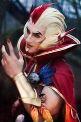Rakan - League of Legends Official Cos-Model RIOT