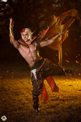 Rakan - League of Legends Cosplay by Leon Chiro by LeonChiroCosplayArt