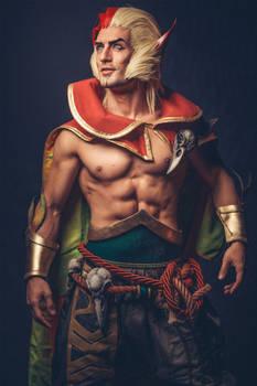 Rakan - League of Legends Cosplay by Leon Chiro
