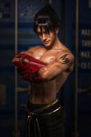 Jin Kazama - Tekken Official by Leon Chiro by LeonChiroCosplayArt