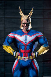 ALL MIGHT Cosplay Leon Chiro - My Hero Academia by LeonChiroCosplayArt