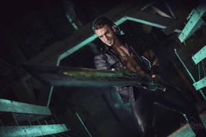 Gladiolus Cosplay FFXV DLC tribute by Leon Chiro
