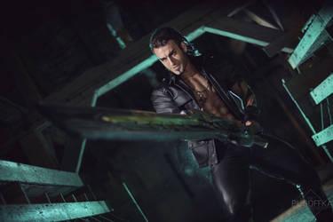 Gladiolus Cosplay FFXV DLC tribute by Leon Chiro by LeonChiroCosplayArt
