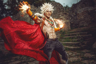 Fantasy BAKUGOU - My Hero Academia Cosplay