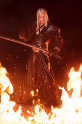Sephiroth - Final Fantasy Dissidia NT Cosplay HD by LeonChiroCosplayArt