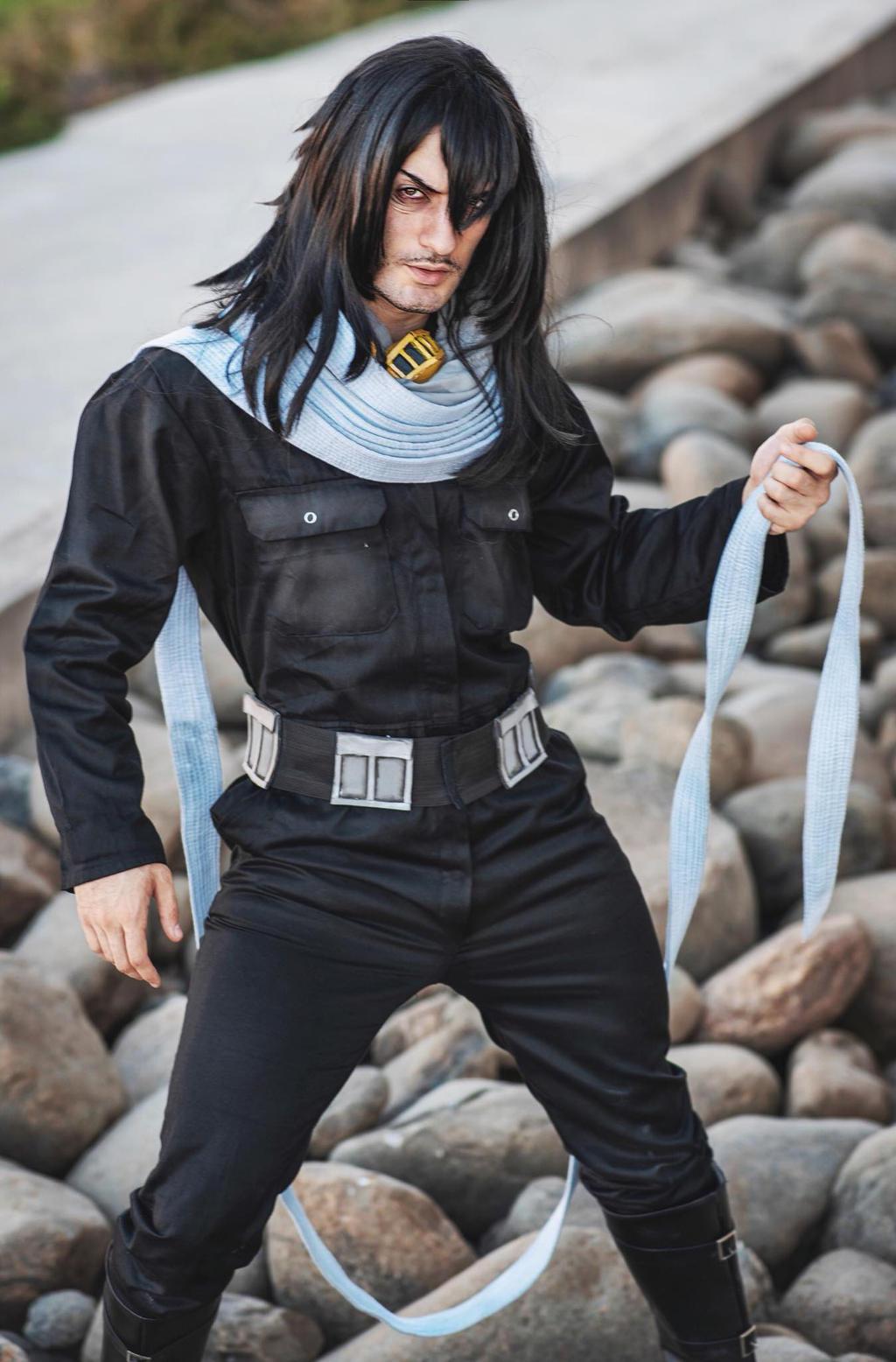 Aizawa Cosplay - My Hero Academia by Leon Chiro by LeonChiroCosplayArt