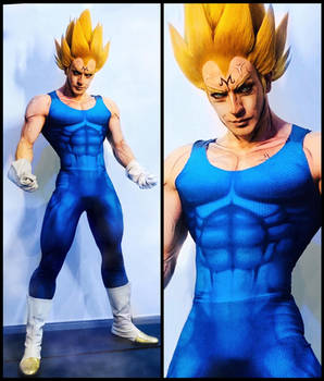 MAJIN VEGETA - Dragon Ball Z  by Leon Chiro