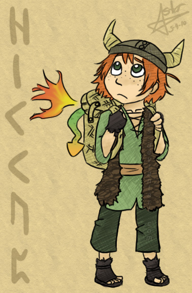 Hiccup - Original by Chibidoodles