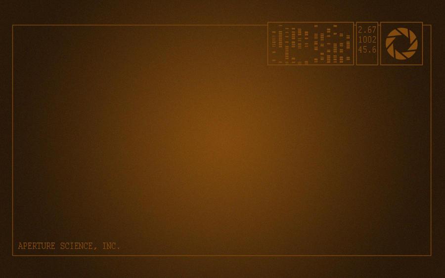 Aperture Computer Wallpaper by Chibidoodles