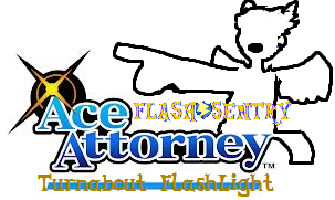 Flash Sentry Ace Attorney Preview by Count-Author