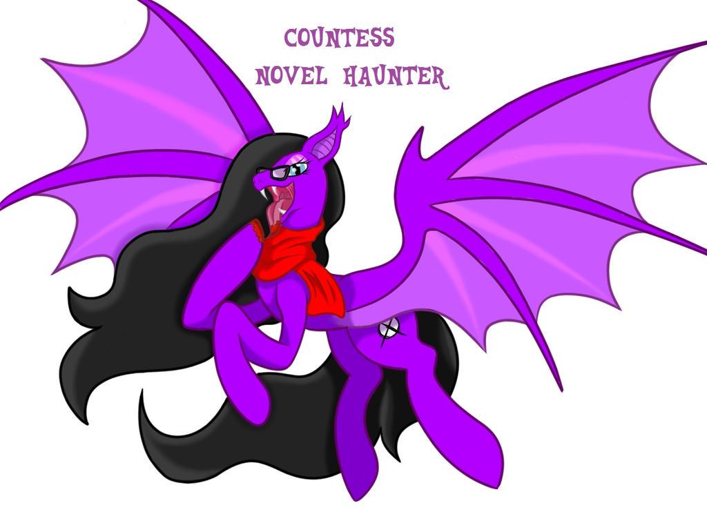Countess Novel Haunter by Author-Bat-Pegasus