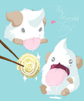 Poro Sketches! by TheAnimatedFox