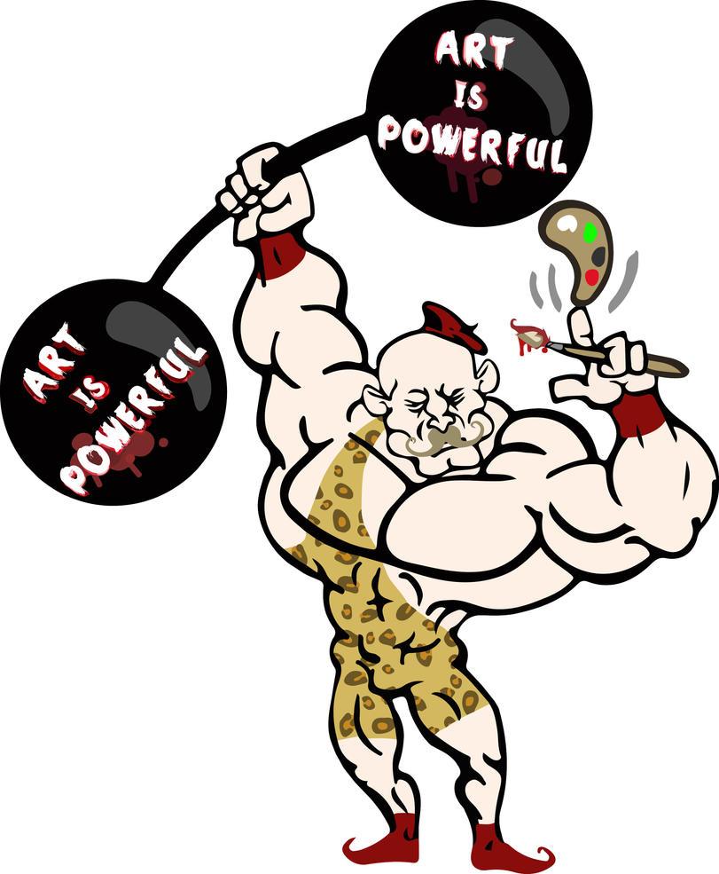 Strongman Concept by EvilRilla