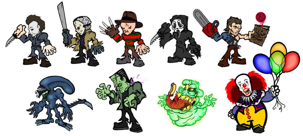 Monster alphabet update by EvilRilla
