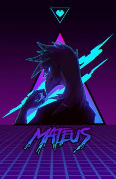 Neon waves - BADGE COMM Mateus
