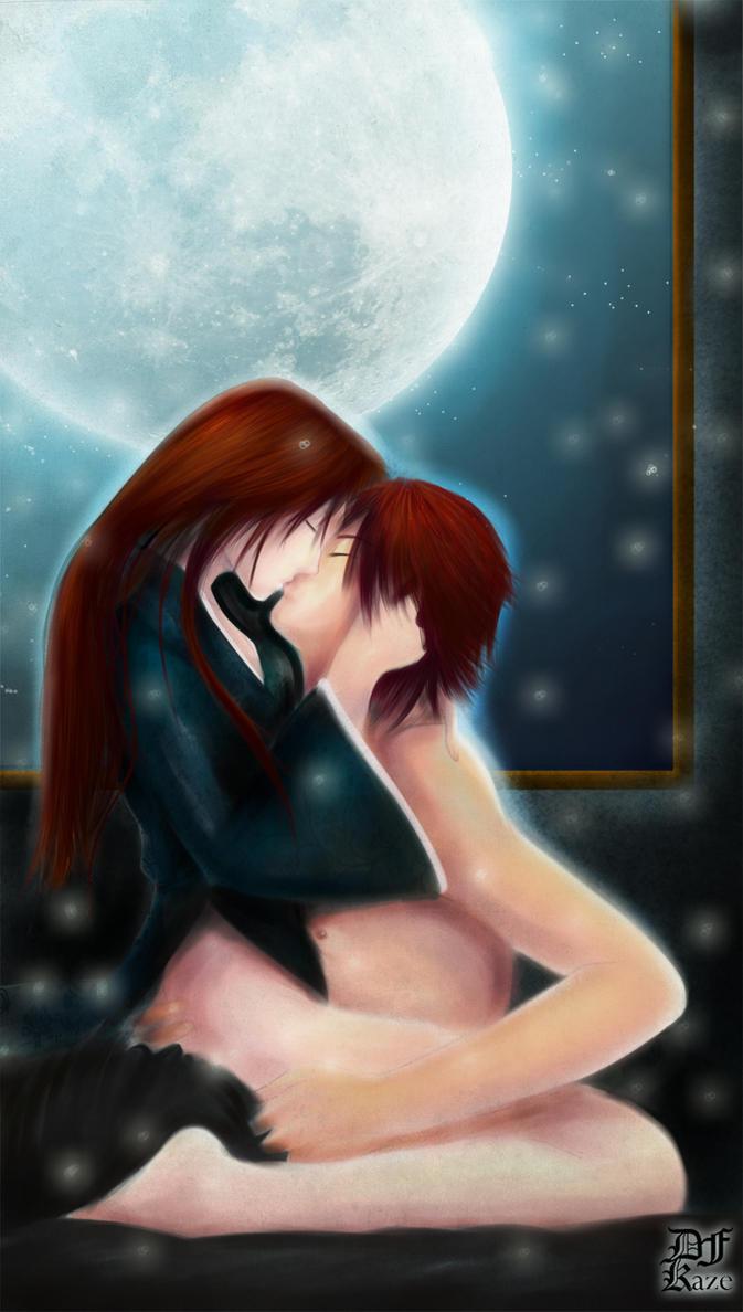 Dark y Alisseth escene by DFKAZE